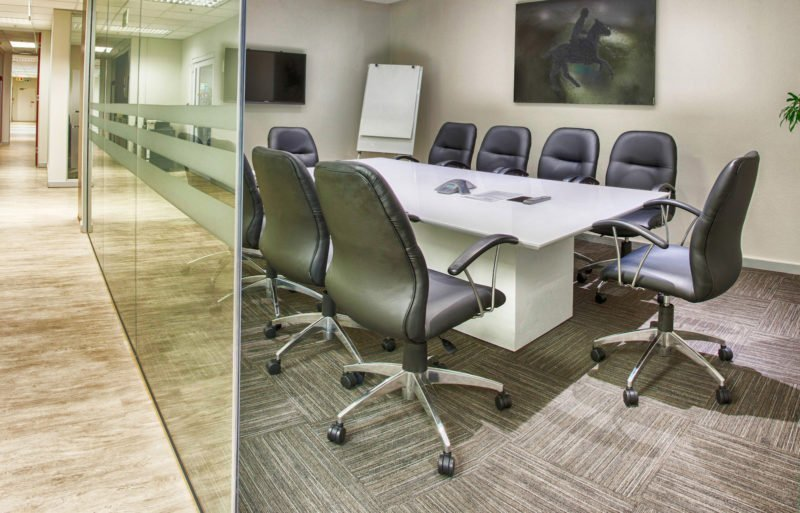 The Business Exchange Boardroom Rental Meeting Room Rental in Johannesburg Sandton Serviced Offices In Sandton Shared Office Space Flexible Office Space BOARDROOM ONE