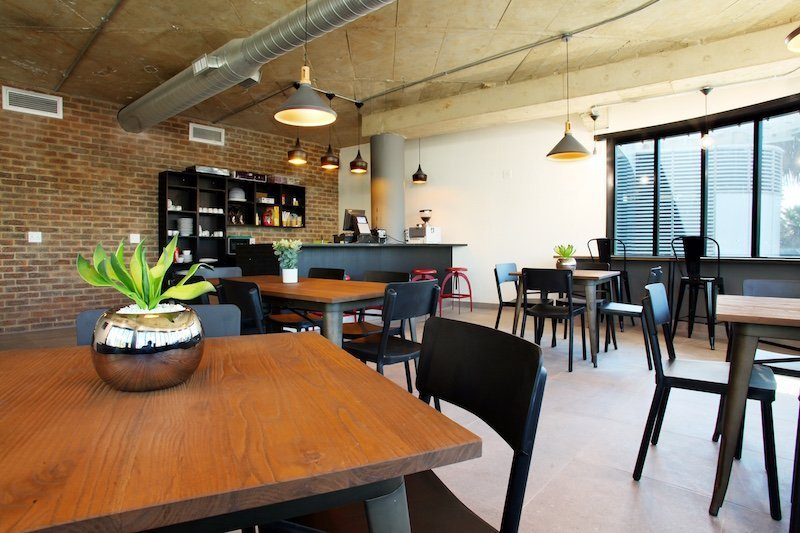 flexible workspace at the business exchange