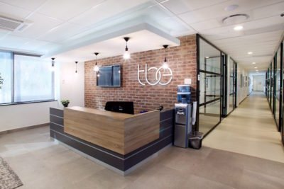 Office Space at The business exchange Rosebank reception