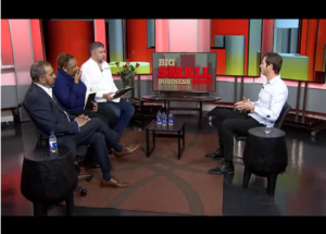 david seinker on the small business show on business day tv