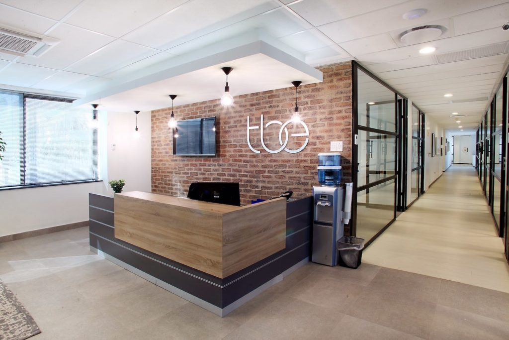 image business office. Office Space At The Business Exchange Rosebank Reception Home Page Banner Image