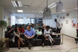The business exchange recent event September. Office Space to Rent