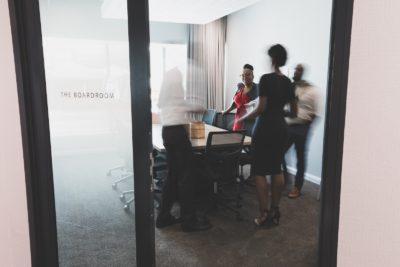 The Business Exchange Office Space Rosebank - Boardroom