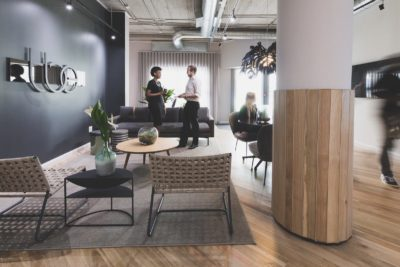 The Business Exchange Office Space Rosebank - Welcome lounge 2