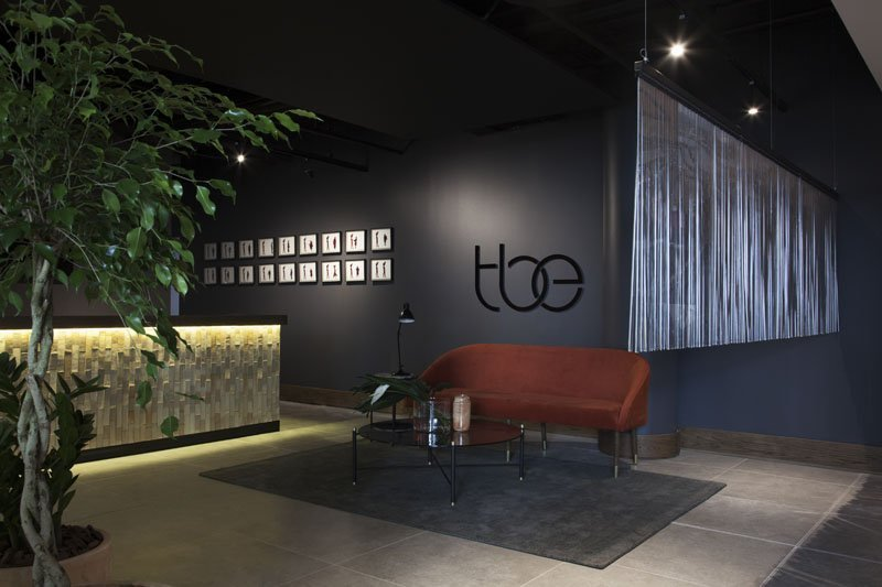 The business exchange office space to rent in sandton reception 1