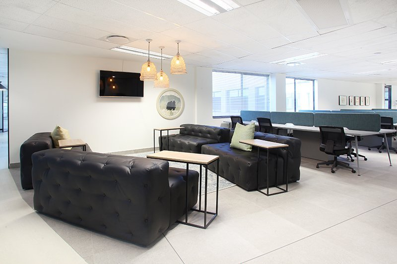 The Business Exchange Rosebank office space to rent Lounge