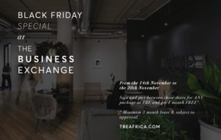 Black Friday Office Space Deal at The Business Exchange