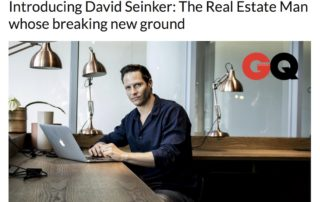 gq magazine features david seinker of the business exchange
