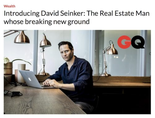 CEO David Seinker Featured in GQ's Online Newsletter