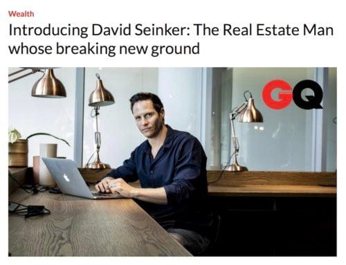 CEO David Seinker Featured in GQ's Online Newsletter