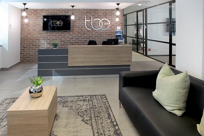 office space to rent in rosebank - reception