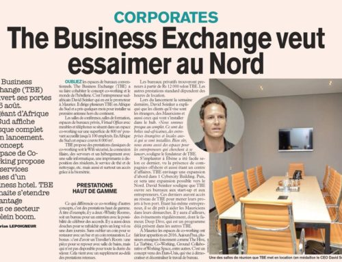The Business Exchange is open for business in Mauritius