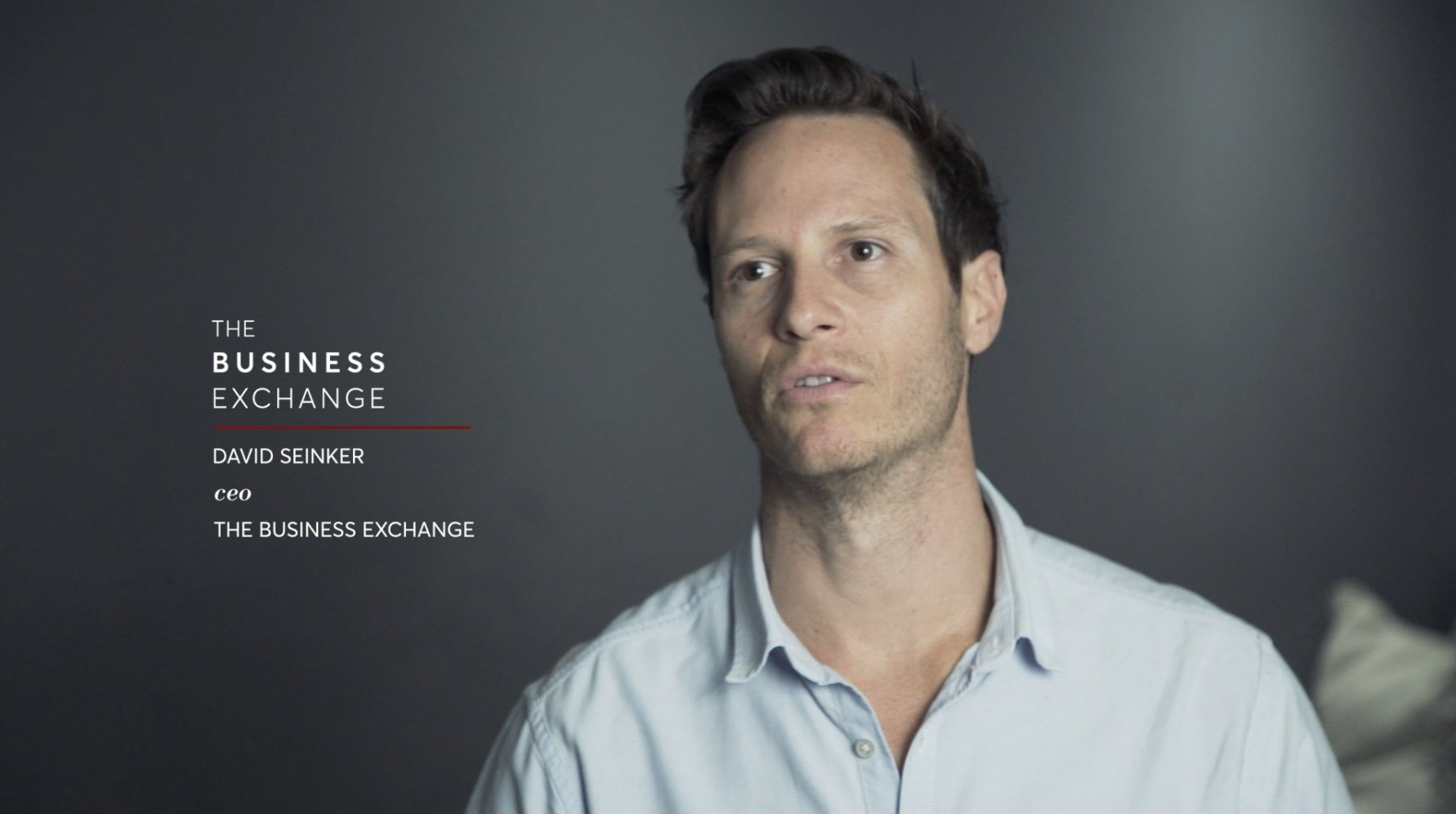 deep dive interview david seinker CEO of The Business Exchange