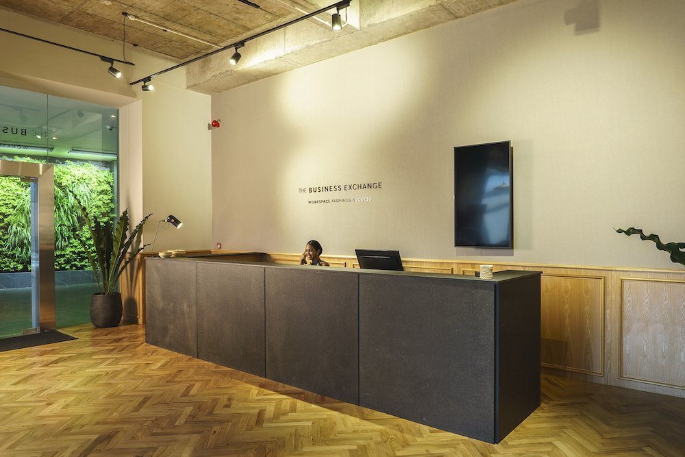 The Business Exchange - Office Space To Rent Mauritius Reception
