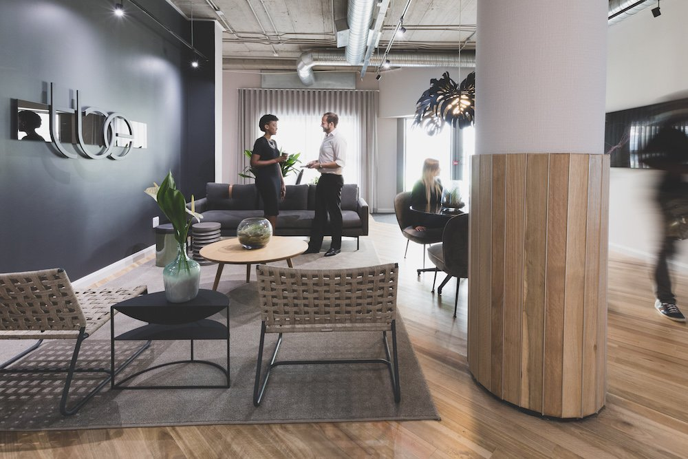 The Business Exchange - Office Space To Rent - Welcome lounge 2