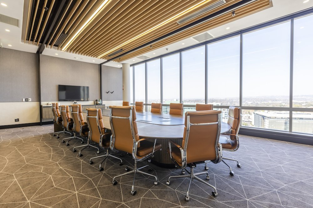 The Business Exchange - Office Space in Sandton 140 West Street Boardroom