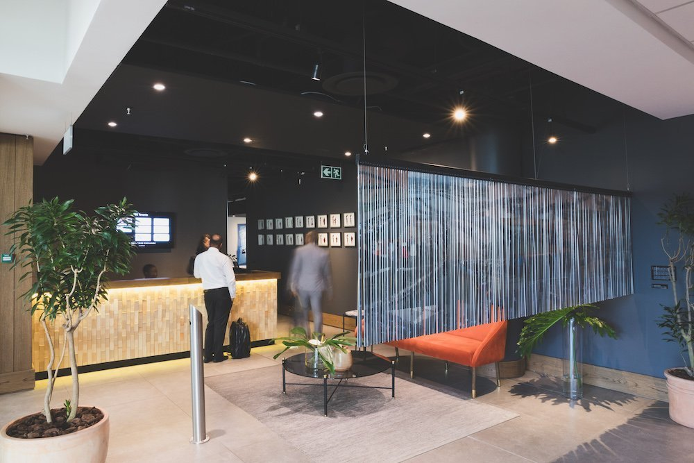 The business exchange - office space - Reception Sandton