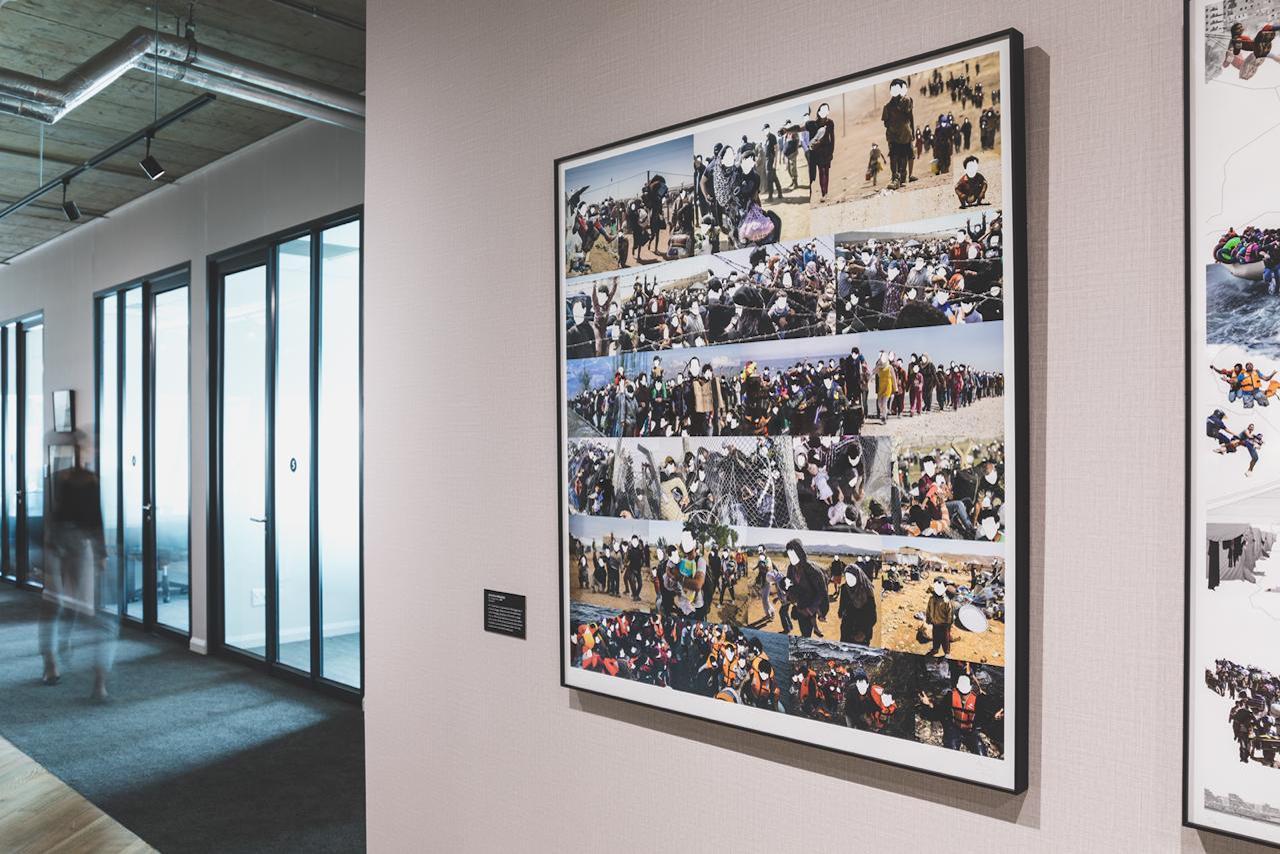 tbe artwork gallery collage