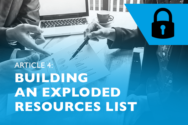 Lockdown advice for entrepreneurs 4 - Building an exploded resources list